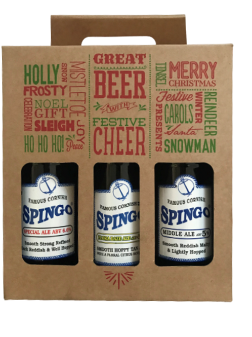 Mixed Box of Spingo Beers