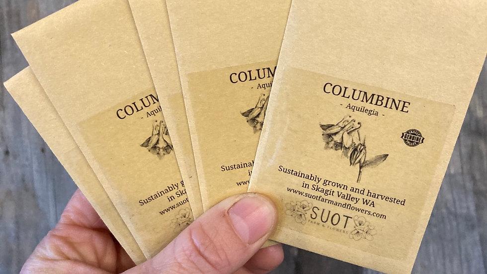 Columbine seed packet