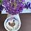 Thumbnail: Floral chicken sticker