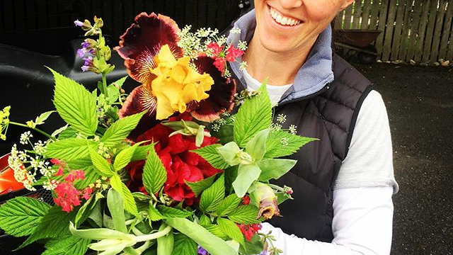 Lush summer bouquet
