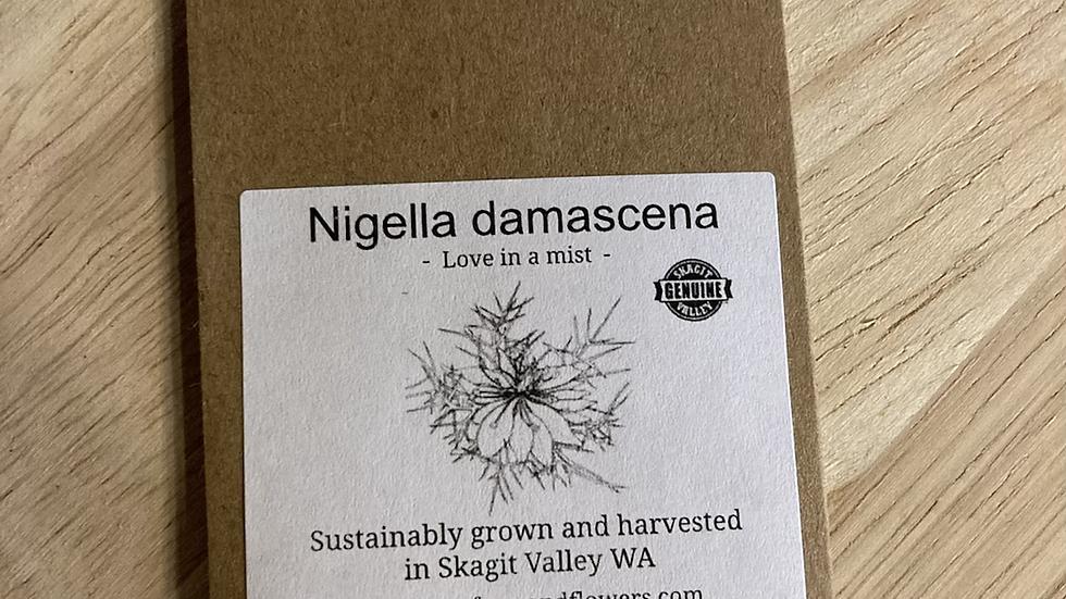 Nigella seed packet