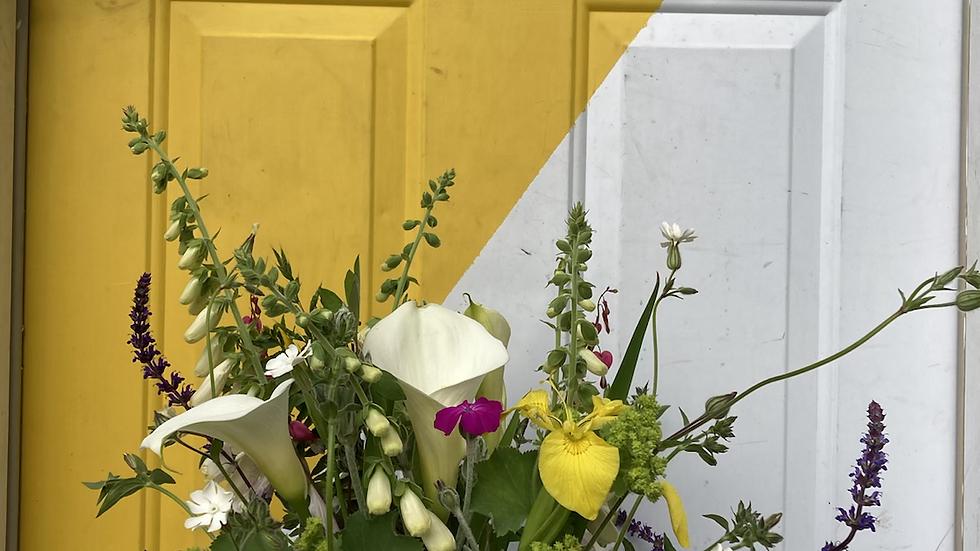 Mother's Day vased arrangement