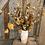 Thumbnail: Dried florals geometric vase