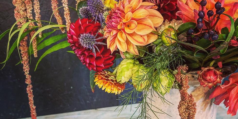 IN PERSON Floral Centerpiece Workshop