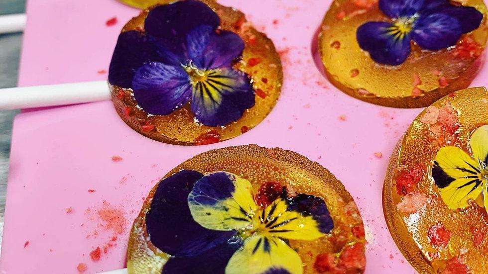 Floral lollipop