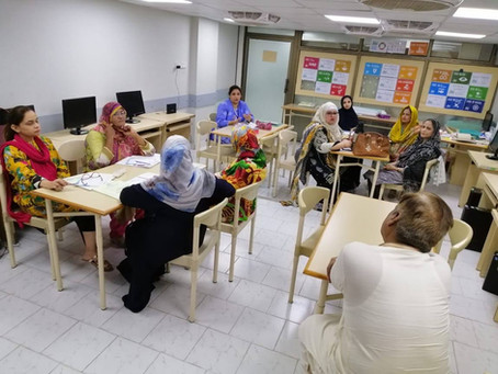 Workshop on Urdu Vocabulary-SIE Professional Development Program