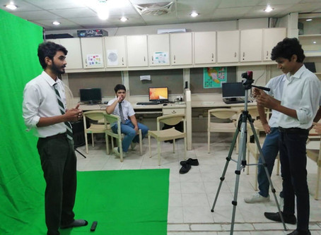 "SIE Youth Club - Workshop on ""Green Screen Effects in Media Making"""