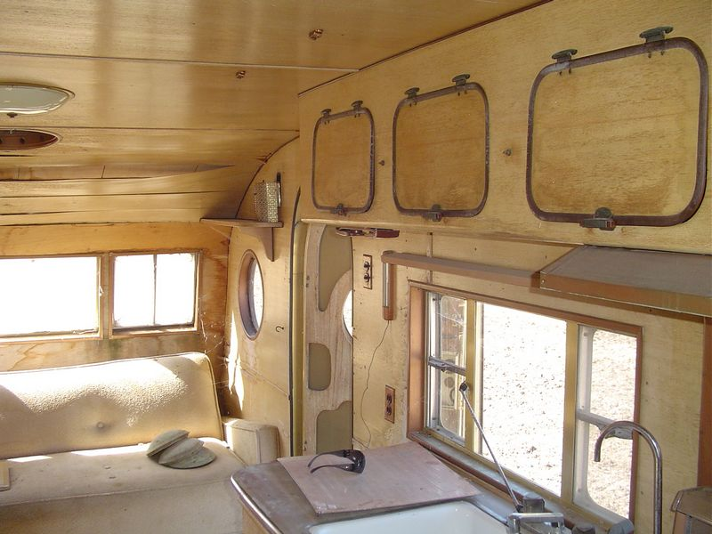 Interior of original Airfloat