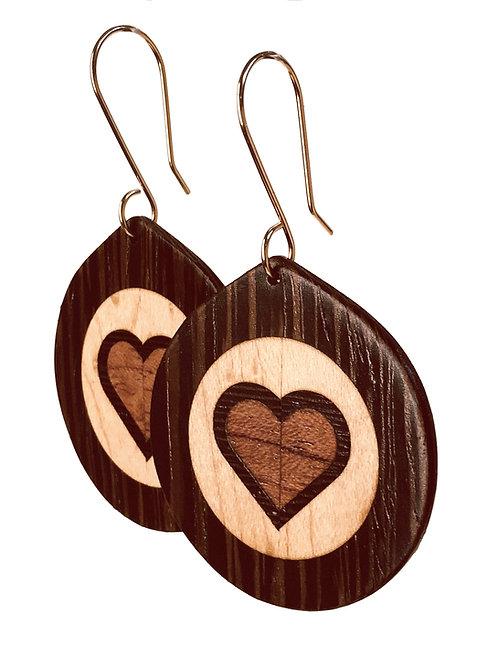 Heart - Wenge