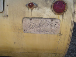 Original Airfloat name plate