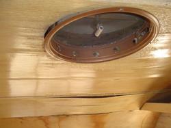 Deteriorating roof vent