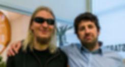 myTrueSound staff: Mikko Herranen (left) and David Oliva (right)