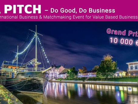 Å pitch - Do good, Do business