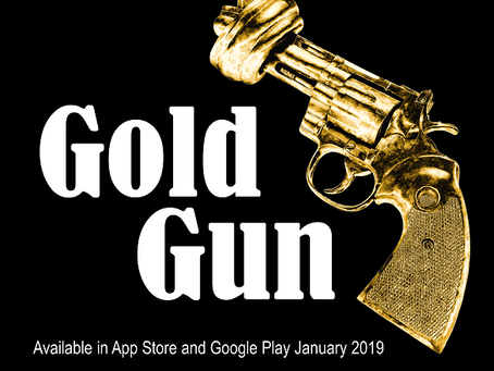 "It's official! ""GoldGun, the adventure of a blind policeman"" will hit app stores 31st January 2019"