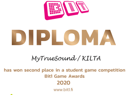 Kilta won 2nd price in Bit1 competition