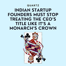 Startup Founders CEO | Quartz | Abhik Choudhury
