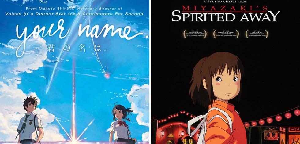 Your Name (Japanese) | Spirited Away (Japanese)