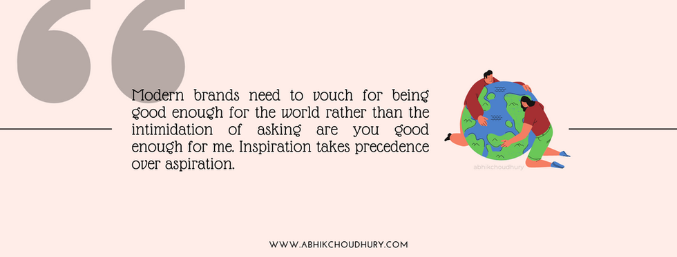 Kindness Branding Quote Abhik Choudhury.