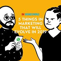 Marketing 2019 | BW | Abhik Choudhury