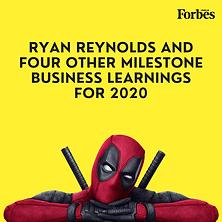 Ryan Reynolds Business Branding | Forbes | Abhik Choudhury