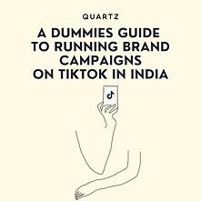 TikTok Campaigns | Quartz | Abhik Choudhury
