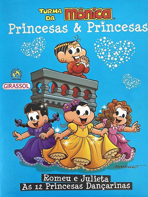 Turma da Mônica - Princesas & Princesas - (Azul)