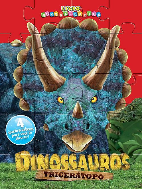 Quebra Cabeça - Dinossauros - Tricerátopo