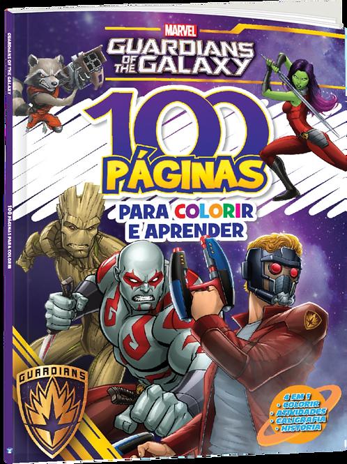 100 Páginas Para Colorir e Aprender - Guardiões da Galáxia