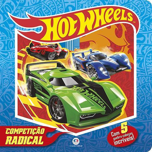 Quebra Cabeça Almofadado - Hotwheels - Competição Animal