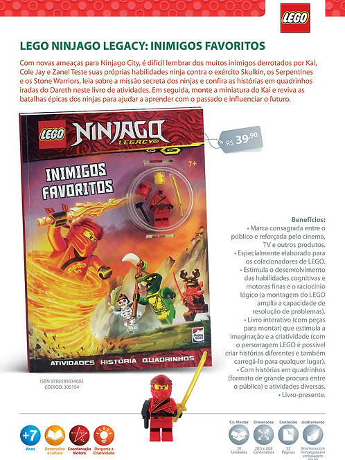 Lego Ninjago: Inimigos Favoritos