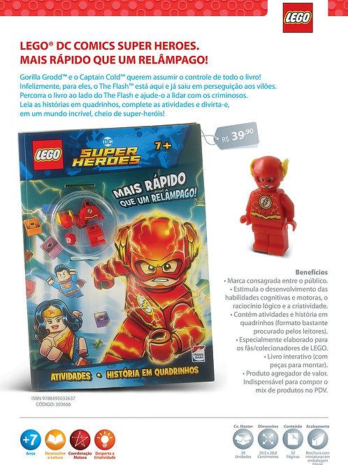 Lego Flash: Mais Rápido Que Um Relâmpago