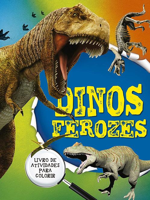 Dinos Ferozes - Livro 1 - Livro de Atividades Para Colorir