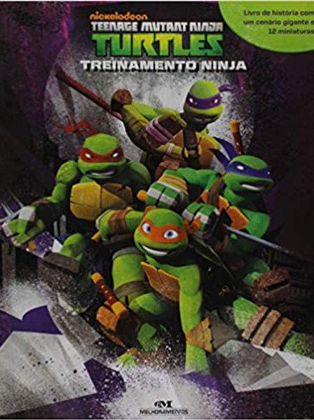 Box Miniaturas - Tartarugas Ninja - Treinamento Ninja