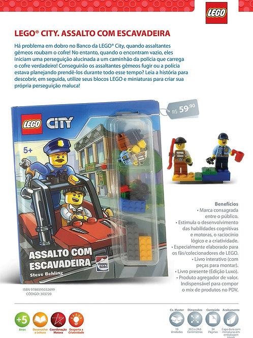 Lego City: Assalto com Escavadeira (Capa Dura)