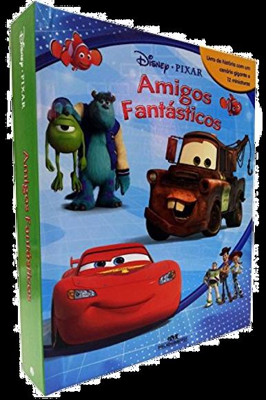 Box Miniaturas - Amigos Fantásticos Disney Pixar