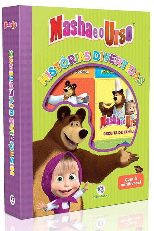 Box C/6 Minilivros - Masha e o Urso