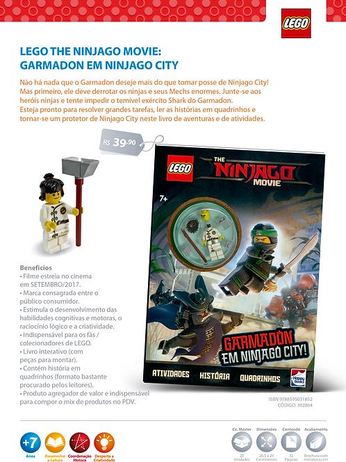 Lego Ninjago: Garmadón Em Ninjago City
