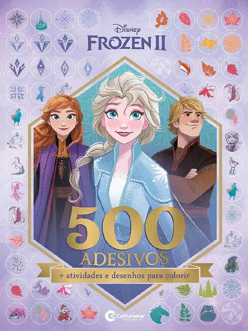 500 Adesivos - Frozen 2