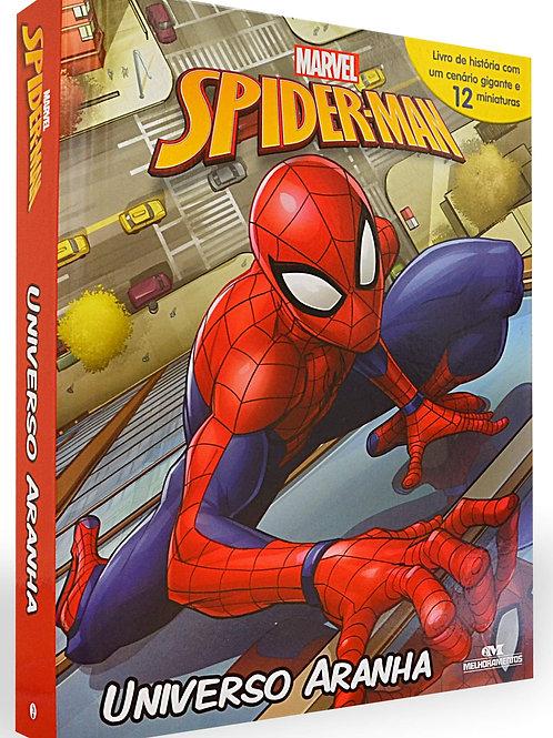 Box Miniaturas - Homem Aranha - Universo Aranha