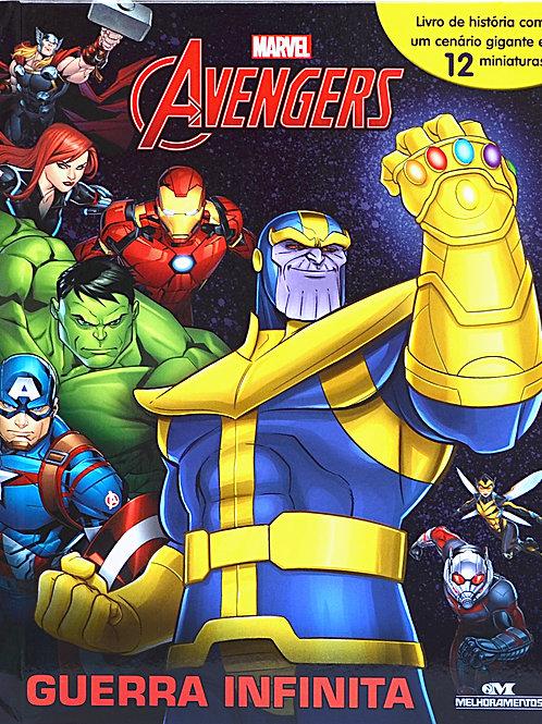 Box Miniaturas - Avengers Guerra Infinita