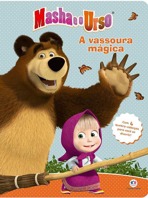 Quebra Cabeça - Masha e o Urso - Vassoura Mágica