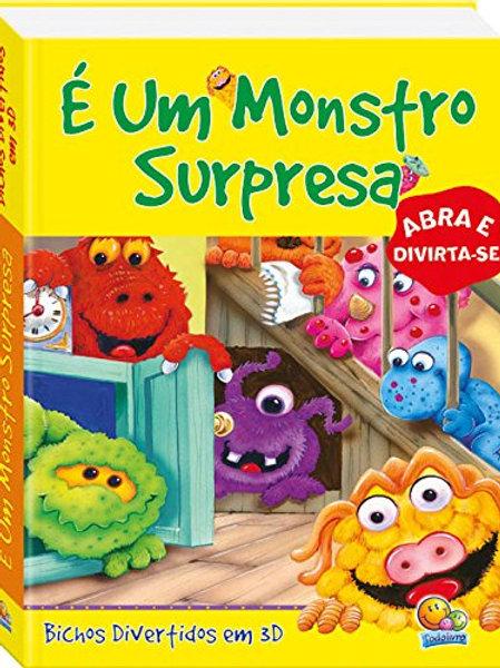 Livro Pop-Up - É Um Monstro Surpresa