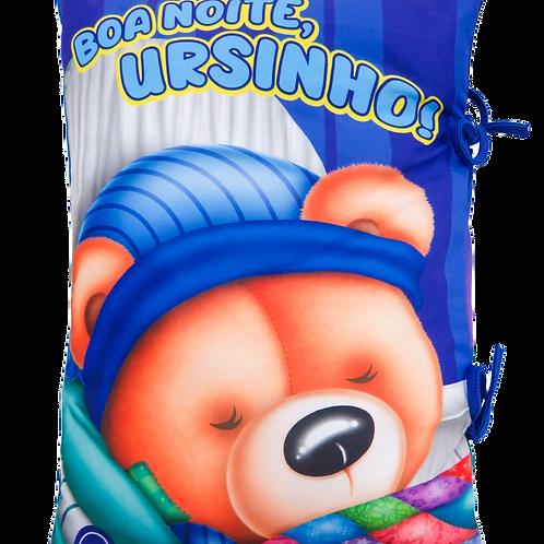 Boa Noite Ursinho - Hora de Sonhar - Travesseiro