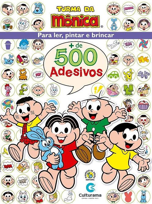 Turma da Mônica - 500 Adesivos