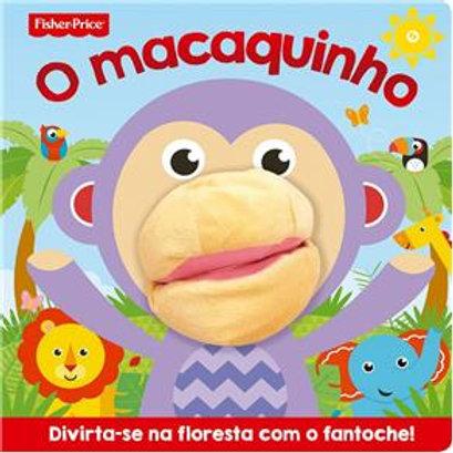 Livro Dedoche - O Macaquinho (Fisher-Price)
