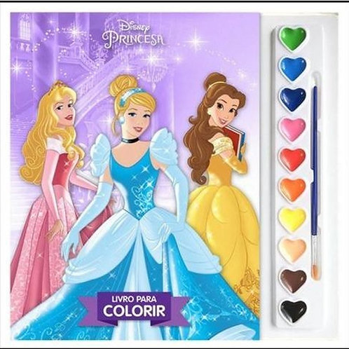 Aquarela Disney Princesas
