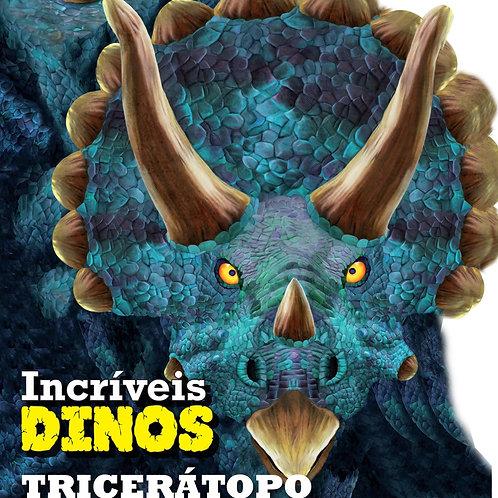 Livro Cartonado - Triceratopo