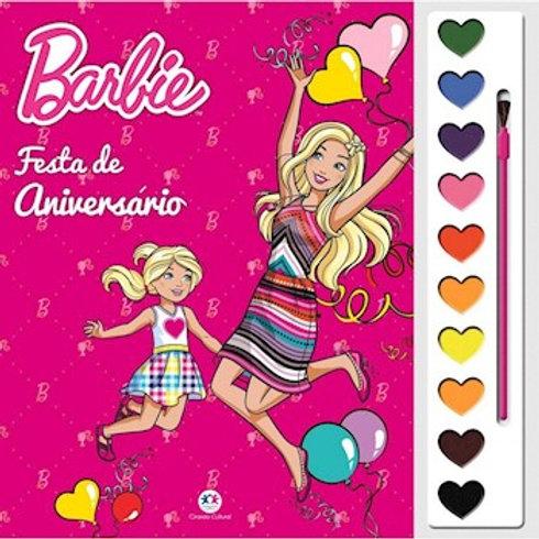 Aquarela Barbie - Festa de Aniversário