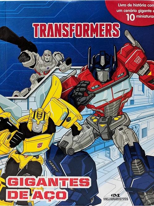 Box Miniaturas - Transformers - Gigantes de Aço