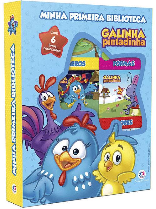 Box C/6 Minilivros - Galinha Pintadinha
